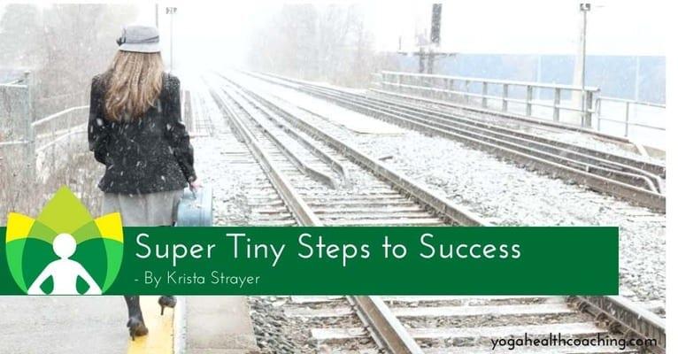 Super Tiny Steps to Success