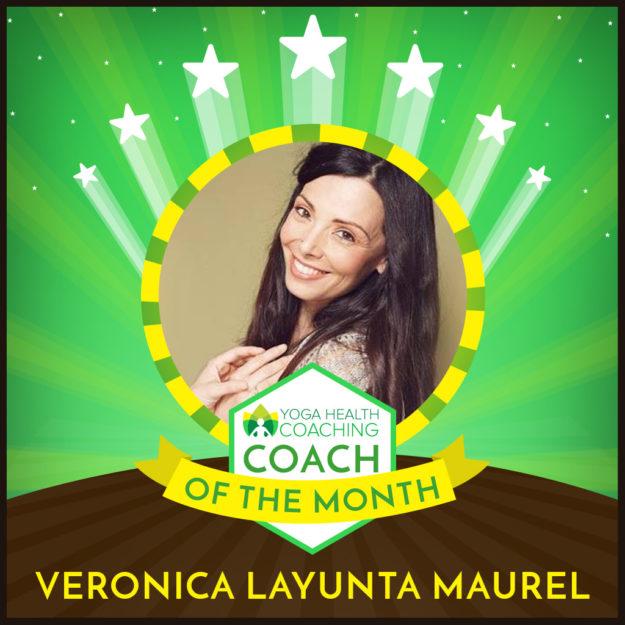 Coach of the Month-Veronica Layunta Maurel