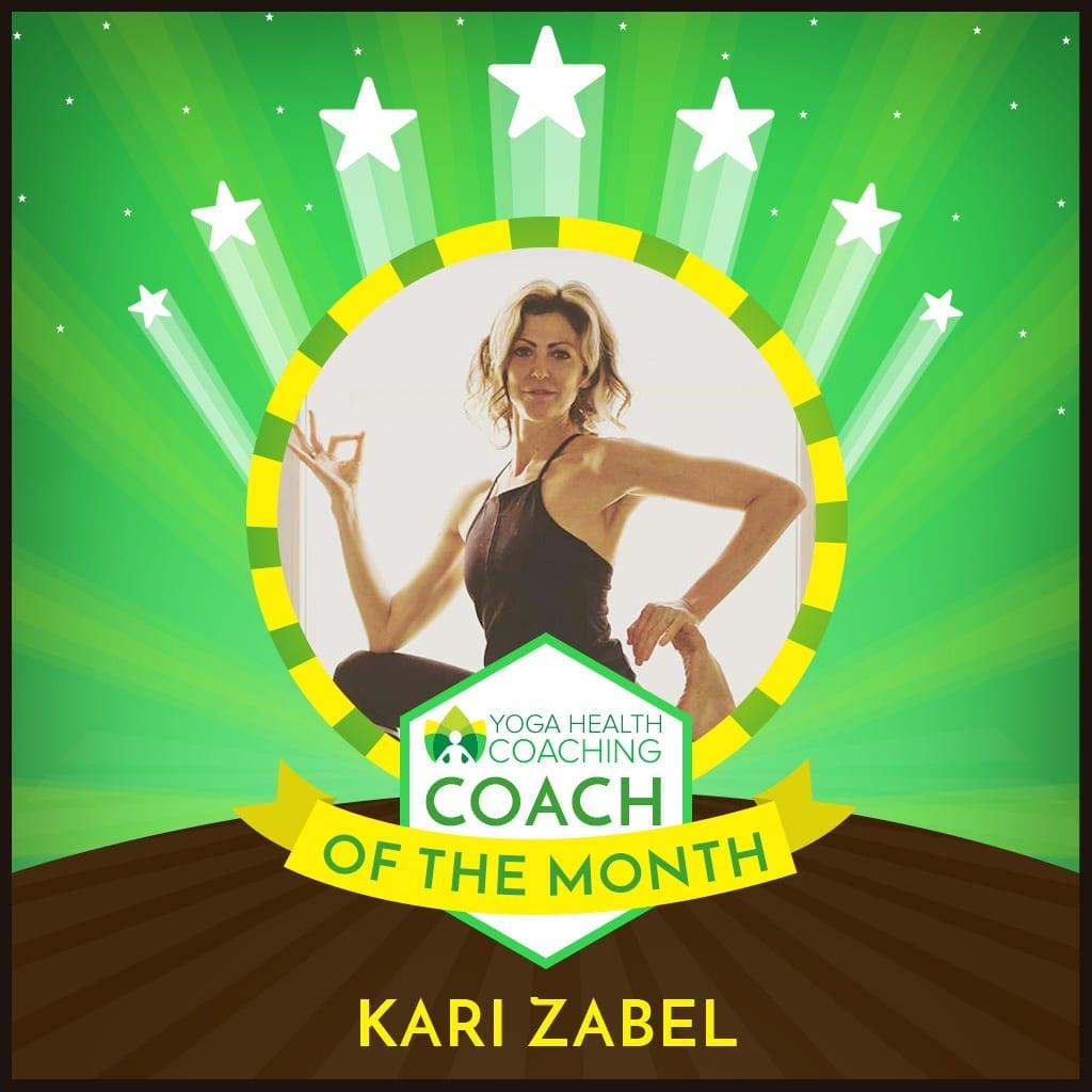 Coach of the Month-Kari Zabel